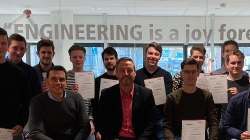 Lean Six Sigma Orange Belt voor tweedejaars Ad-studenten Engineering