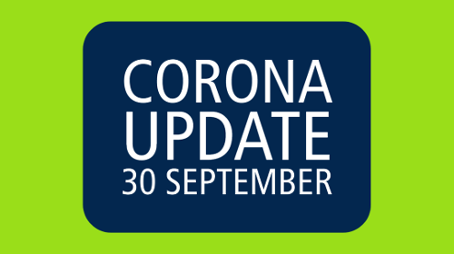 Update coronavirus 30 september Associate degrees Academie